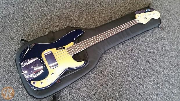 Fender Deluxe Active P Bass Special Navy Blue Metallic