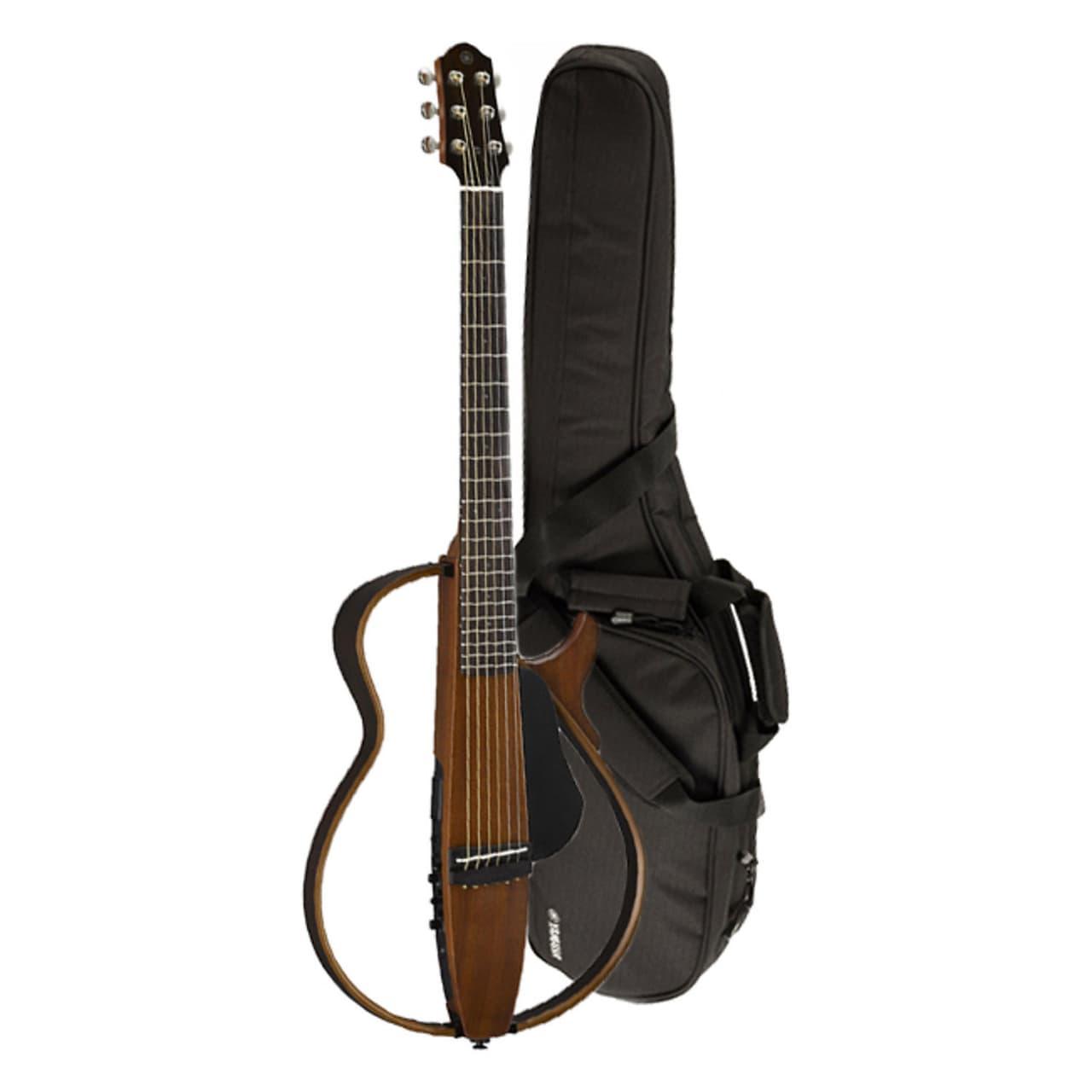 2015 yamaha slg200s nt steel string silent natural guitar for Yamaha slg200s steel string silent guitar