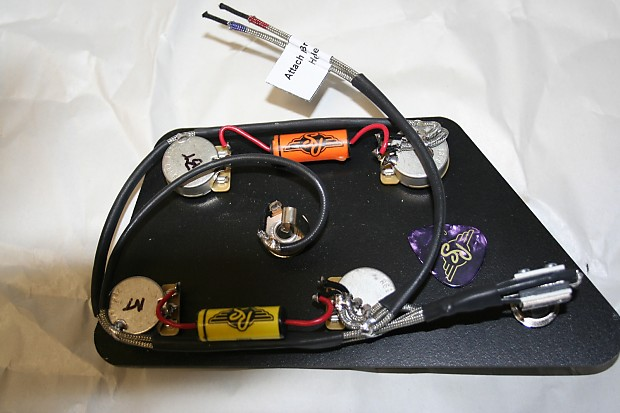 Gibson Es 335 Pre Assembled Vintage Wiring Harness Reverb