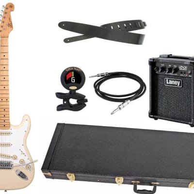 SX Pro Electric guitar package with Hardcase for sale