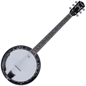 Fender Rustler 6-String Closed-Back Banjo