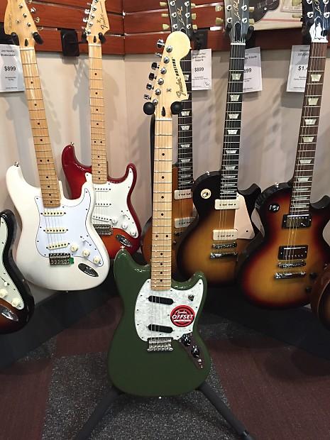Fender Mustang 2016 : fender mustang 2016 olive wadsworth music reverb ~ Hamham.info Haus und Dekorationen
