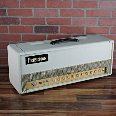 Friedman JJ 100 Jerry Cantrell Limited Edition 100 w Head  Re-Tubed and Re-Biased with new JJ EL34s