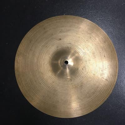 """A. Zildjian 14"""" Hollow Logo Thin Crash Cymbal 1978 - 1982"""