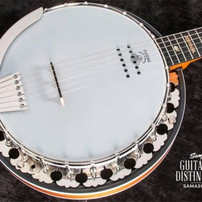 Deering B-6AE Boston 6-String Acoustic-Electric Banjo