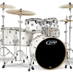 "PDP PDCM2216PW Concept Maple Series 8x10"" / 9x12"" / 12x14"" / 14x16"" / 18x22"" / 5.5x14"" 6pc Shell Pack"