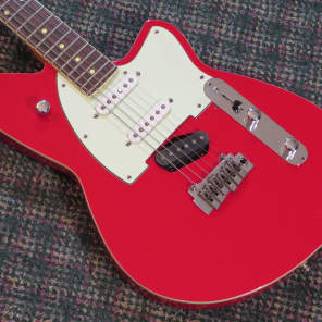 Reverend Six Gun with Rosewood Fretboard Party Red