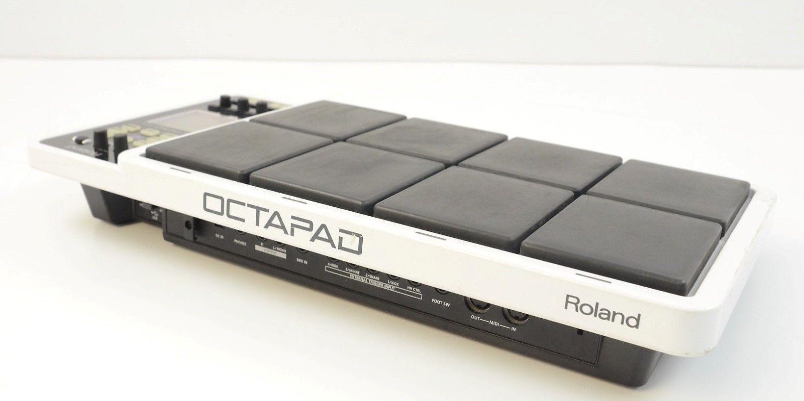 roland octapad spd 30 8 zone digital percussion pad white reverb. Black Bedroom Furniture Sets. Home Design Ideas