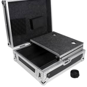 "Odyssey FZGS12MX1 Flight Zone Glide Style Low Profile Universal 12"" DJ Mixer Case"