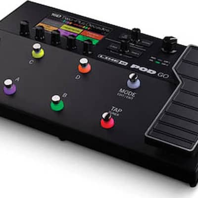 Line 6 POD® Go Guitar Multi-effects Floor Processor