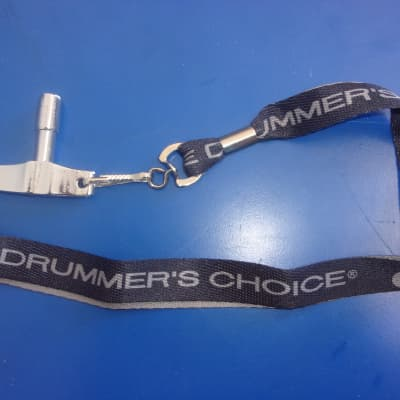 "New DW ""The Drummers Choice"" Drum Lanyard and heavy duty ""T"" Drum Key"