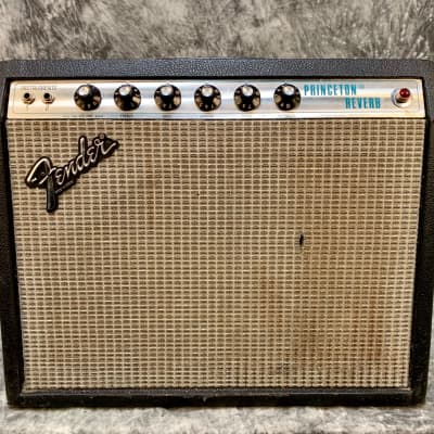 Fender Princeton Reverb 1980 Silverface for sale