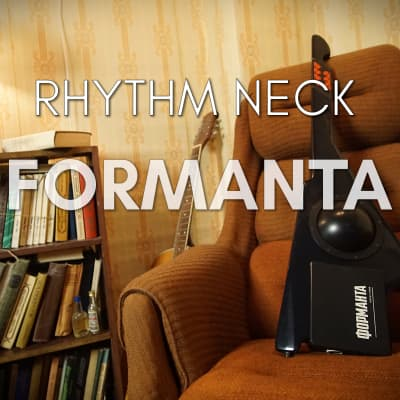 Formanta Rhythm Neck Soviet USSR Guitar Keytar Uds Drum Machine Tr