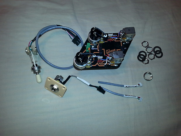 Surprising Gibson New 2014 Les Paul Quick Connect Wiring Harness With 4 Reverb Wiring Cloud Intapioscosaoduqqnet
