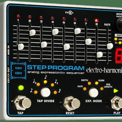 Electro Harmonix 8 Step Program Analog Expression Sequencer Guitar Pedal