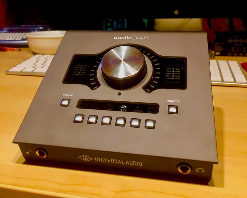 universal audio apollo twin mkii duo audio interface reverb. Black Bedroom Furniture Sets. Home Design Ideas