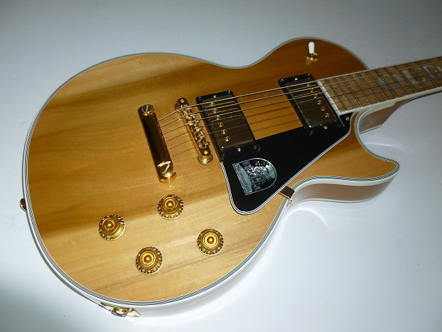 gibson old hickory les paul natural reverb. Black Bedroom Furniture Sets. Home Design Ideas