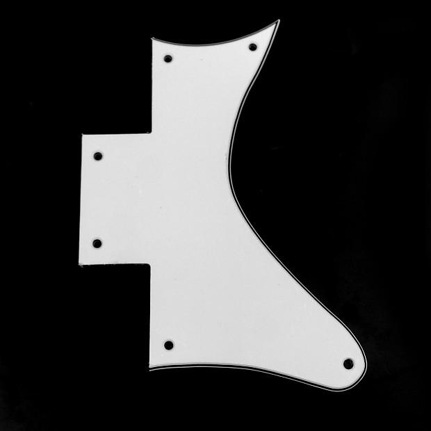 replacement guitar pickguard for washburn wi64dl wi 64 dl reverb. Black Bedroom Furniture Sets. Home Design Ideas