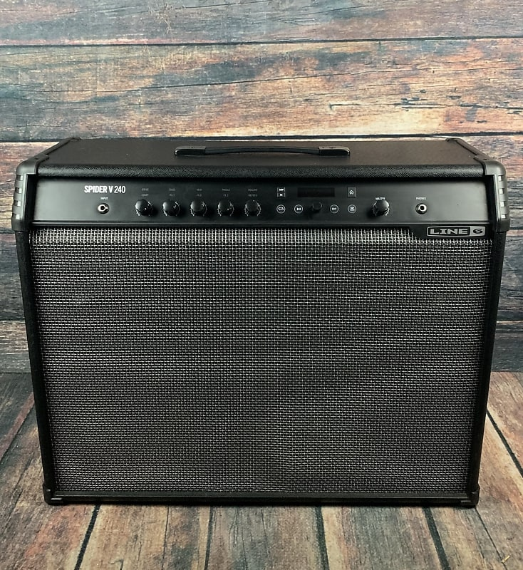 Used Line 6 Spider V 240 240W 2x12 Guitar Combo Amplifier