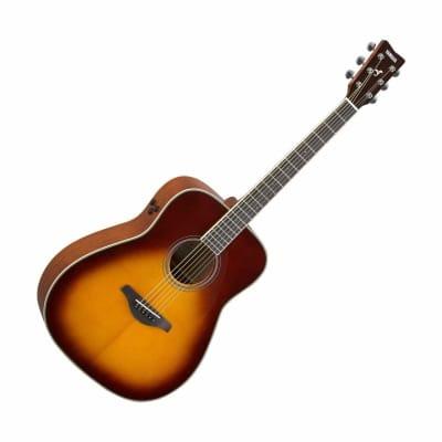 Yamaha FG-TA-BS TransAcoustic Acoustic/Electric Guitar Brown Sunburst for sale