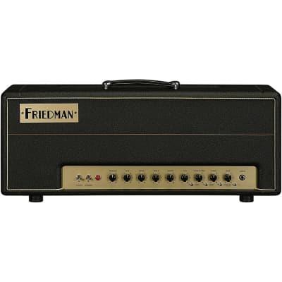 Friedman Brown Eye 100W 2-Channel Tube Guitar Head Regular Black