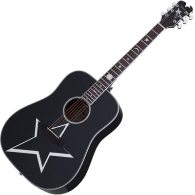 Schecter Robert Smith RS-1000 Busker Acoustic - Black for sale