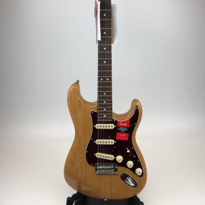 Fender Limited Edition Light Ash American Professional Stratocaster Aged Natural 2019 DEMO for sale