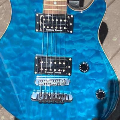 Washburn WM100 1998 Transparent Blue for sale