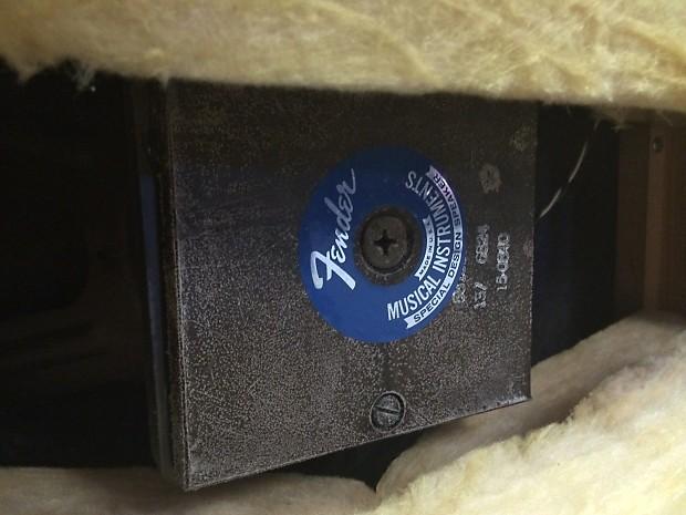 Fender Bandmaster Speaker Cabinet 1967 Reverb