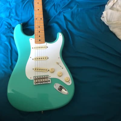 Fender Fender Vintera '50s stratocaster  2018 Foam green for sale