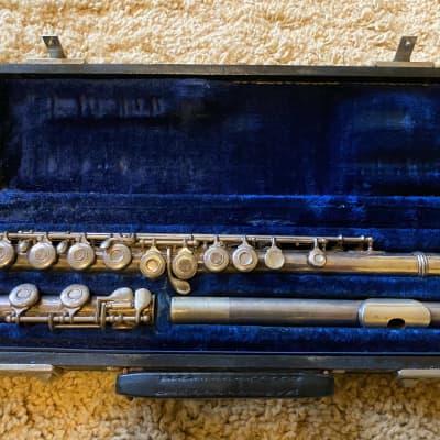 Vintage Gemeinhardt M3 60s Silver-Plated