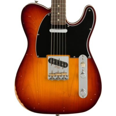 Fender Jason Isbell Custom Telecaster Road Worn 3-Colour Chocolate Burst for sale