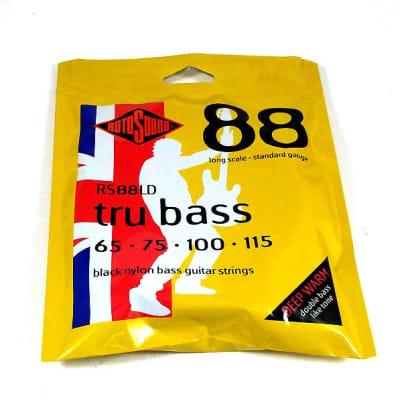 RotoSound Bass Guitar String tru bass 4 String Bass RS88LD Nylon 65-115