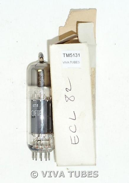 NOS NIB Cifte France ECL82 [6BM8] Plate Top O Get Vacuum Tube 100+%