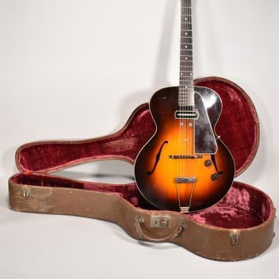 1940 Gibson ES-150 Charlie Christian Vintage Electric Archtop Sunburst Guitar w/HSC for sale