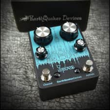 EarthQuaker Devices Spires Spires Double Fuzz Guitar Effect Pedal - 1968 Fuzz Sound