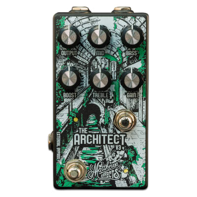 """Matthews Effects Architect v3  Guitar Effects Pedal with """"Mythic"""" Circuit"""