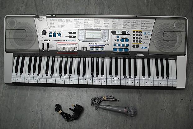 casio lk-300tv keyboard manual