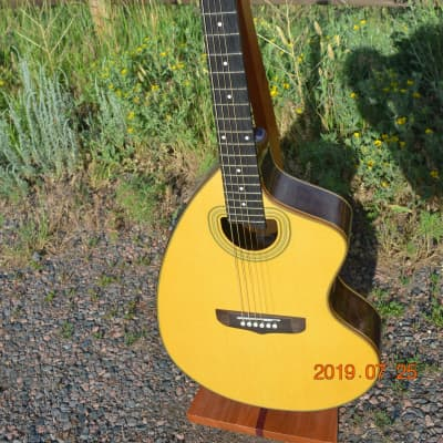 Giannini Craviola GWSCRA-6-P  Guitar All Solid Wood  Spruce Top Brazilian Rosewood Back and Sides for sale
