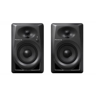 Pioneer DM-40 Desktop Monitor Speakers, Black, DM-40, Pair