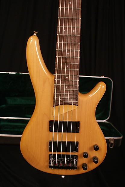 ibanez sdgr sr506 1996 maple 6 string electric bass guitar w reverb. Black Bedroom Furniture Sets. Home Design Ideas