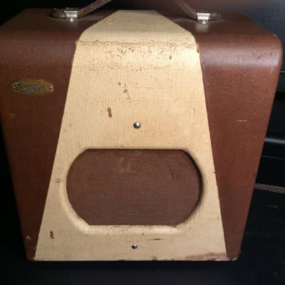 Valco Supro  spectator 1953 Brown/tan for sale