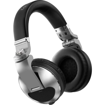 Pioneer Pro DJ HDJ-X10-S Closed-back Circumaural Professional DJ Headphone with Detachable Cable and