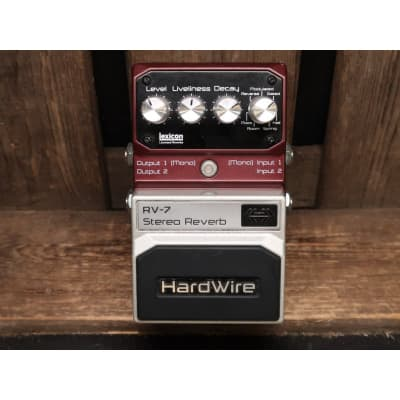 DigiTech Hardwire RV-7 Stereo Reverb for sale