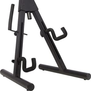 Fender Universal A-Frame Electric Guitar Stand, Black 2016