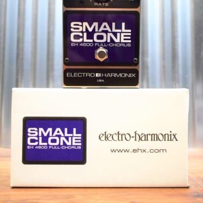 Electro-Harmonix EHX Small Clone Analog Chorus Guitar Effect Pedal