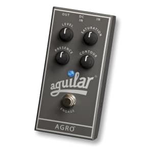 Aguilar 510-253 AGRO Bass Distortion Overdrive Effect Pedal for sale