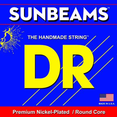 DR Strings NMR-45 Sunbeams Nickel Plated Round Core Medium 45-105 Bass Strings