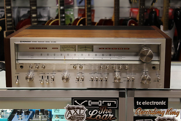 Pioneer sx950 1970's vintage hifi power and preamp with integrated tuner