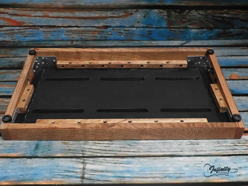 sidewinder pedalboard quartersawn oak infinity guitars reverb. Black Bedroom Furniture Sets. Home Design Ideas